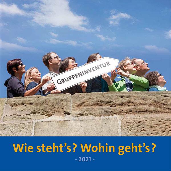 Cover Gruppeninventur-Flyer 2021 der SEKO Bayern