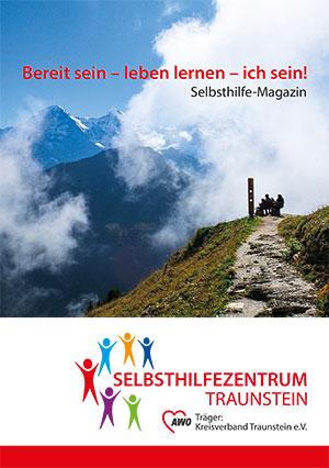 Cover Selbsthilfemagazin des Selbsthilfezentrum Traunstein